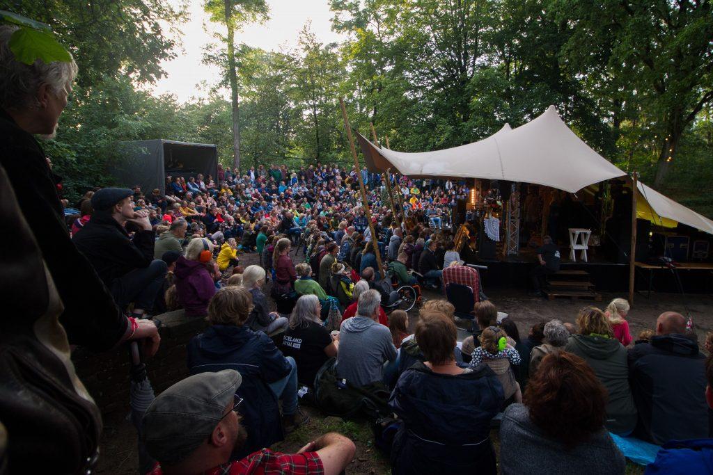Het Bospodium tijdens een eerdere editie van het Graceland Festival